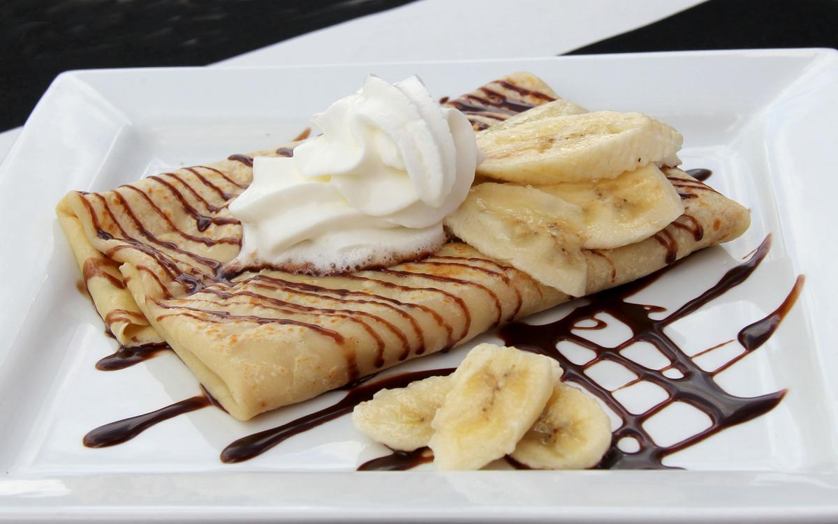 Banana Chocolate Crêpe